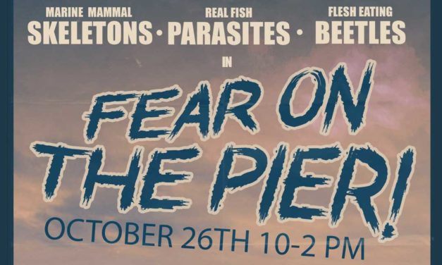 'Fear on the Pier' will haunt the MaST Center Aquarium on Sat., Oct. 26