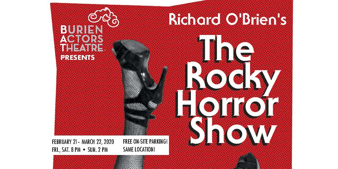 Do the Time Warp again at 'The Rocky Horror Show' at Burien Actors Theatre starting Feb. 21