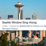 Sing loud, Waterland City! Join the 'Seattle Window Sing-Along' Saturday night at 7 p.m.!