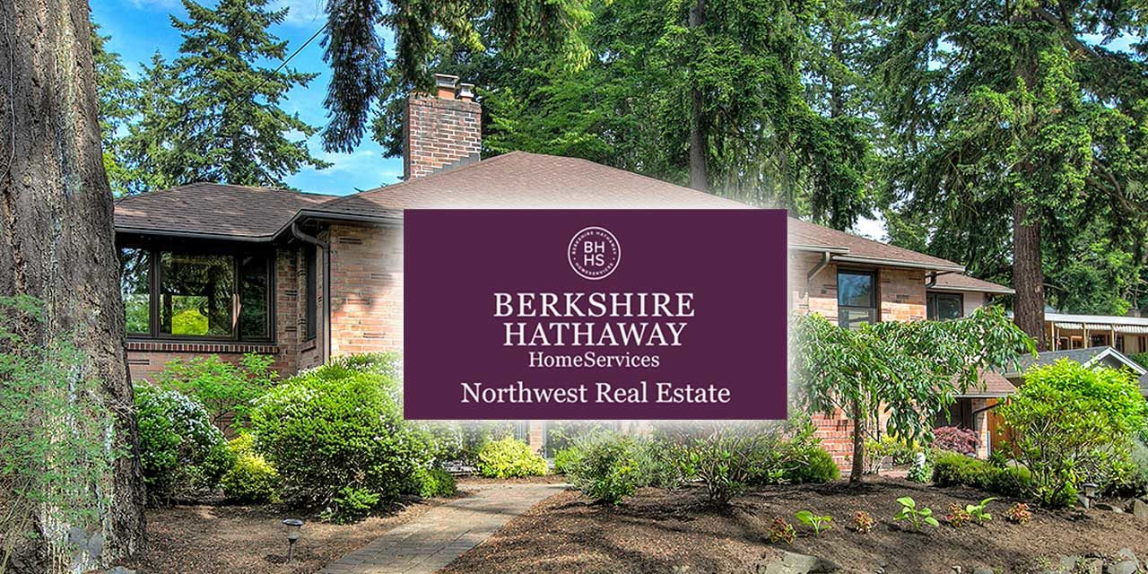 Berkshire Hathaway HomeServices Northwest Real Estate holding 'Virtual' Open House this weekend!
