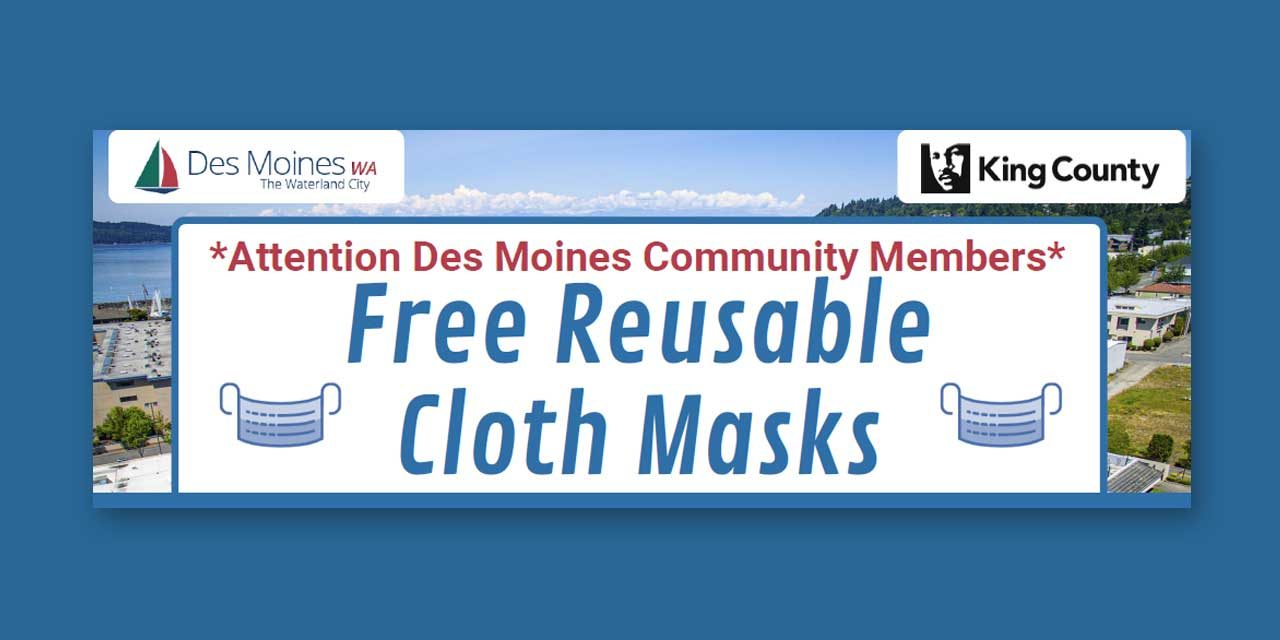 Free Reusable Cloth Masks available for residents on Aug. 4 and Aug. 6